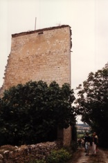 Donjon du château d'Homps