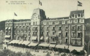 Le Grand hôtel du Parc en carte postale.