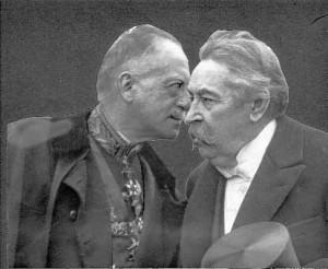 Conversation entre Charles de Broqueville et Aristide Briand.