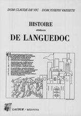 Livre de Dom Vaissete (réédition Lacour-Ollé)