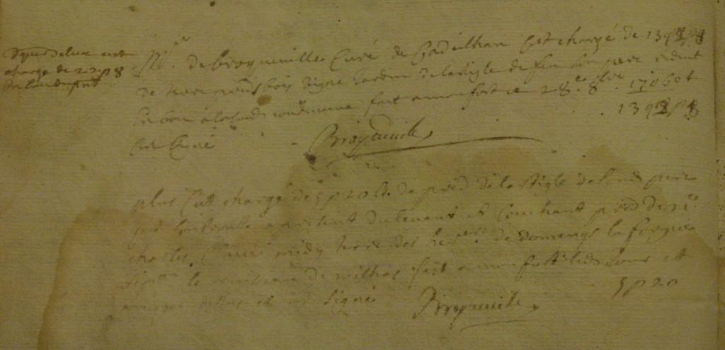 Mutation des biens de Monfort 1685-1728 (ref : 5899)
