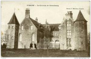 Le château de Steenebourg à Steene