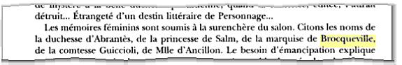 Marquise de Brocqueville