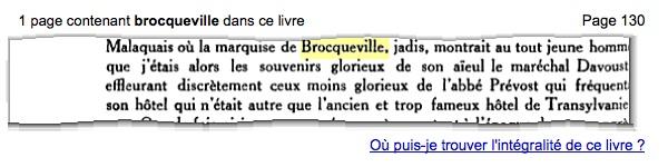 Marquise de Brocqueville, fille du général Davout