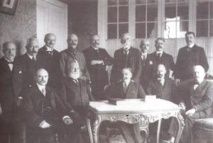 Le gouvernement belge à Sainte-Adresse en 1918