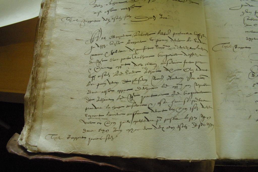 Texte de condamnation d'Antoine Broqueville
