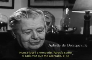Marguerite Yourcenar alias Aghette de Brocqueville ?