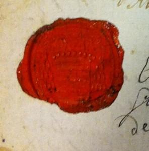 Lettre de l'évêque de Lectoure à Gabriel Arquier, curé de Monfort.