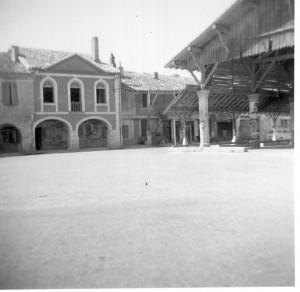 La salle commune ou hôtel de ville de Monfort