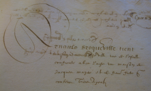 Arnauld (+ après 1597) x Sereine de Prugnes
