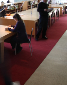 Salle de lecture des ADG