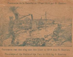 Le Panorama de la bataille de l'Yser par A. Bastien