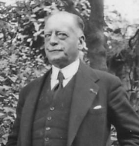 Charles de Broqueville en mai 1934.