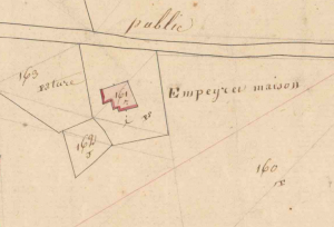 Plan napoléonien d'Empiroy.