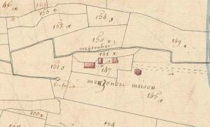 Plan napoléonien de Maussombat.