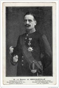 Charles de Broqueville en 1912