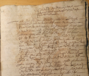 Testament de Catherine Broqueville