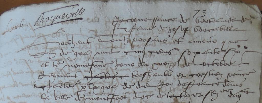 An de grâce 1566…