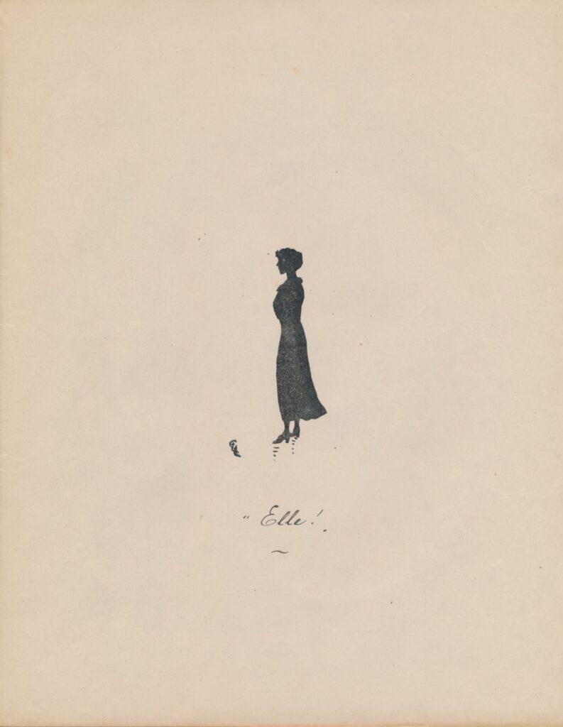 Dessin humoristique 1916